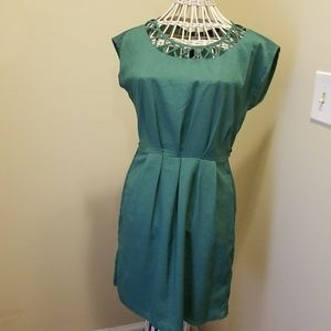 Short sleeve Green dress